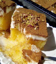 Cookbook Recipes, Cake Recipes, Dessert Recipes, Cooking Recipes, Greek Cake, Greek Sweets, Food Decoration, Mediterranean Recipes, Greek Recipes