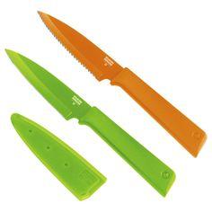 The New Kuhn Rikon Colori+ Paring Knife Set
