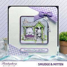 Smudge & Mitten - Hunkydory | Hunkydory Crafts
