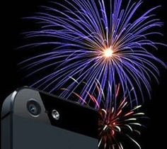 Getting ready for fireworks photography with your iPhone Photographing Fireworks, New Year Text, Best Fireworks, Fireworks Photography, Fort Worth, Fourth Of July, Grape Vines, Bella, Things To Do