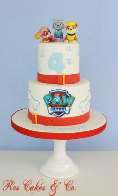 Paw Patrol Cake by Ros Cakes & Co. Birthday Cake.