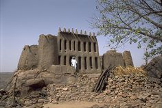 Sacred Sites of the Dogon, Mali.  The ancient myths of the stars include detailed astronomical facts that were not photographed until the 1970s.