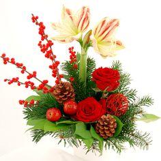 Blumenstrauß Weihnachtszauber - Der Zauber der Blumen bringt Ihren Liebsten die herzlichsten Weihnachtsgrüße.