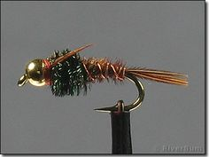 Bead Head Pheasant Tail Nymph - a true go-to fly almost everywhere there are trout.