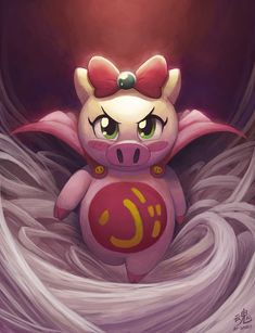 Another childhood favourite artwork, this time based on an anime called Super Pig. Its pretty much a female targeted anime but I used to enjoy it. Pig Girl, Arte Nerd, Pig Illustration, Illustrations, Pikachu Art, Fanart, Cute Pigs, Little Pigs, Deviantart