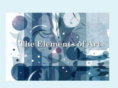 Powerpoint of all art elements # Elements # Art resources # Powerpoi … - Education Science Elements And Principles, Elements Of Art, Classe D'art, Art Handouts, Art Education Resources, Art Worksheets, Middle School Art, High School, Art Curriculum