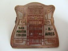 Paper Clip Advertising BANCO DE COMERCIO Buenos Aires Argentina  ¡!Vintage