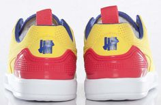 Undefeated x Puma Future Clyde Lite | Bright Yellow & Teaberry Red