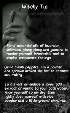Love, Passion and Seducing Spells