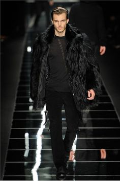 John Richmond fall 2012 - amazing fantasy coat