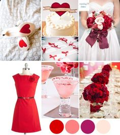 When I think of Valentine's Day I picture red roses, hearts and romantic vintage style.
