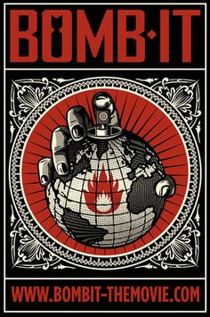 bomb it.