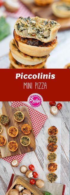 Piccolinis nachgemacht! Mini Pizza zum selber machen!