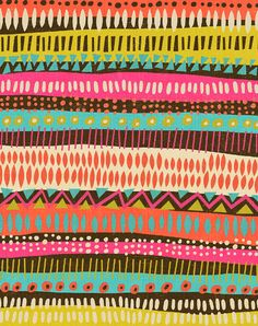 Pattern Print by ArtByKellie on Etsy, $20.00