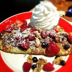 Photo of Red Apple Pancake House - Carol Stream, IL, United States. Nutella crepe
