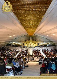 Miercoles 13 de Agosto 2014 - Oración de 4:30 A.M. en la Colonia Bethel. #SantaConvocacion2014 #lldm #ccbusa #lldmusa