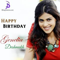 Wishing the cutest ‪#‎Genelia‬ a very Happy Birthday! Keep smiling always! ‪#‎HappyBirthdayGenelia‬ ‪#‎HappyBirthday‬ ‪#‎BlingStation‬ ‪#‎fashion‬ ‪#‎jewelry‬