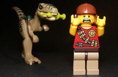 Escape! Dino is behind you! #LEGO #dinosour #dino