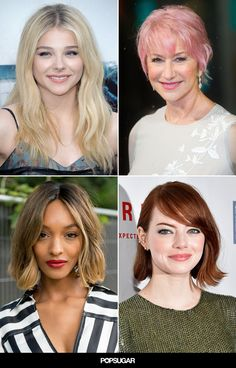 Look no more for that latest hair color ideas for 2015.  From the brightest blond to the darkest brunette, our hair-color guide covers them all. #popsugar #salonlofts #makeovermonday