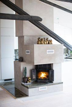 Un apartamento tipo loft en Oslo · A loft apartment in Oslo Oslo, Modern Interior Design, Interior And Exterior, Attic Loft, Living Styles, Architecture Details, Apartment Therapy, Interior Inspiration, Sweet Home
