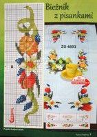 "Gallery.ru / arine2208 - Альбом ""4"" Easter Tablecloth, Gallery, Dots, Punto De Cruz, Cooking, Easter Activities, Roof Rack"