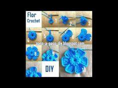 YouTube Hanukkah, Wreaths, Crochet, Youtube, Flower Crochet, Door Wreaths, Ganchillo, Deco Mesh Wreaths, Crocheting