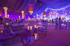 Dinner tent at San Francisco Symphony Gala 2014. Lighting Design by Got Light.