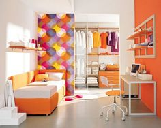 8 Bright and Cheerful Kids Room Decor Ideas Childrens Bedroom Decor, Kids Bedroom, Bedroom Ideas, Girl Bedrooms, Bedroom Designs, Kids Rooms, Rustic Master Bedroom, Modern Bedroom, Awesome Bedrooms
