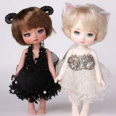 """좋아요 4개, 댓글 1개 - Instagram의 mini(@petite_jiwoo)님: """"#petitejiwoo #doll #resindoll #dollstagram #toy #arttoy #tiny #handmade #dollpainting #dollmakeup…"""""""