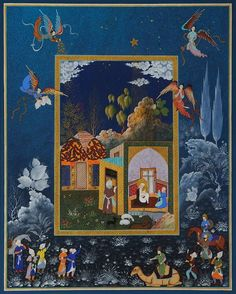 Welcome to the Website of Haydar Hatemi- Haydar Hatemi is one of the pioneers in new form of Ottoman Art and Persian Miniatures. He is also known as the Istanbul painter. Mughal Paintings, Islamic Paintings, Collages, Renaissance, Medieval Paintings, Iranian Art, Turkish Art, Oriental, Traditional Paintings