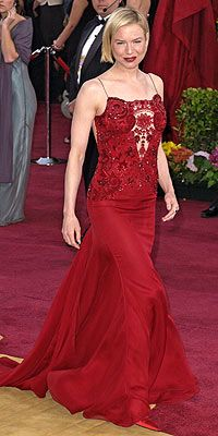 Renee Zellweger in Carolina Herrera Oscars 2003
