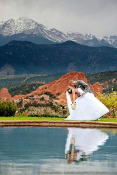 Love this backdrop. Colorado Springs Wedding Obviously we are cuter than this ;) hehe Garden of the Gods