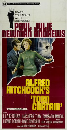 August 2015 | Alfred Hitchcock | Torn Curtain | USA (1966) | 019 Hitchcock