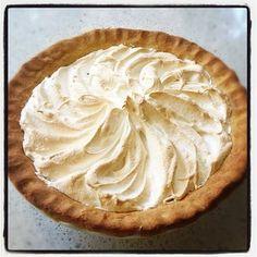 Lime Pie with Vanilla Bean Meringue #thermomix #recipe