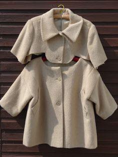 Marilla Walker: Vintage coat rework