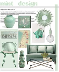 """""""MINT"""" by hellodollface on Polyvore"""