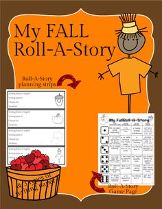 Continue to build up your writing center with this My Fall Roll-A-Story. Students roll the dice to guide them as they write down the setting (kind of day & place), the characters and the problem. This helps students who sometimes have a hard time getting started, but when they do - watch out for the greatest creative story writing ever!