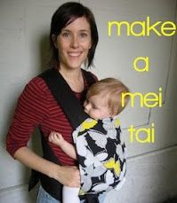 """DIY Mei Tai!  To keep your baby out of """"containers""""  :)"""