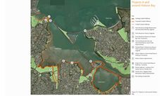 A co-ordinated plan for projects in and around Hobson Bay is out for consultation.