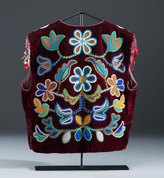 Anishinaabe Beaded Vest