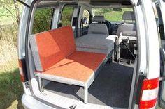 REIMO VW Caddy Camp - das Mini-Wohnmobil: Weitere Bilder