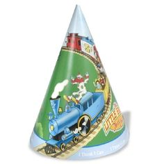 A party just isn'ta party without Little Engine That Could fun hats for everyone! Deck out your party guests with Little Engine That Could party cone hats! Little Engine That Could, Train Party, Pattern Matching, Baby First Birthday, Cool Hats, Party Guests, Party Themes, Party Ideas, First Birthdays