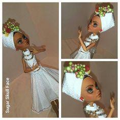 Christmas Gift Carmen Miranda Brazilian doll by SugarSkullFace