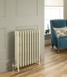 Established over 20 years ago, Radiating Style are one of the UK's leading online suppliers of contemporary, designer and Victorian style cast iron radiators. Cast Iron Radiators, Victorian Fashion, Chrome, Home Appliances, Steel, Contemporary, Interior Design, Retro, Bedroom