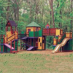 Insanely over the top playhouse.  Costs substantially more than my parents paid for our house back in the 80's
