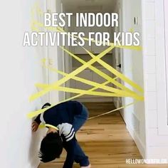 Best indoor activities for kids - Juegos caseros Best Picture For halloween crafts For Your Taste You are looking for something, an - Outdoor Games For Kids, Indoor Activities For Kids, Toddler Activities, Education Games For Kids, Indoor Kids Games, Outdoor Activities, Toddler Games, Free Education, Baby Education