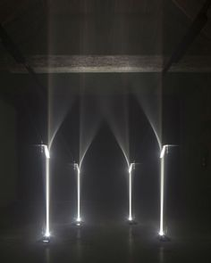 Cathedral of Light: Bent Beams Create Illusory Arches | Designs & Ideas on Dornob