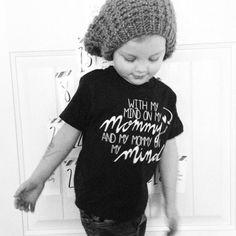 Mommy on my Mind: Navy infant and toddler onesie bodysuit t-shirt #design #kids
