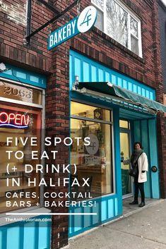 5 Local Spots to Eat (+Drink) In Halifax — The Anthrotorian East Coast Canada, Nova Scotia Travel, Travel Destinations, Travel Tips, Travel Stuff, Travel Europe, Solo Travel, East Coast Road Trip, Atlantic Canada