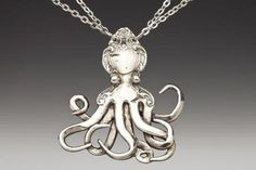Silver Spoon Jewelry: Vintage Spoon and Fork Jewelry: Octopus . - Silver Spoon Jewelry: Vintage Spoon and Fork Jewelry: Octopus … silverspoonjewelr… Best Picture - Silver Spoon Jewelry, Fork Jewelry, Silver Spoons, Metal Jewelry, Jewelry Art, Vintage Jewelry, Silver Plate, Handmade Jewelry, Jewellery